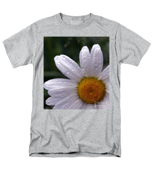 Rainy Day Daisy Men's T-Shirt  (Regular Fit) by Kevin Fortier