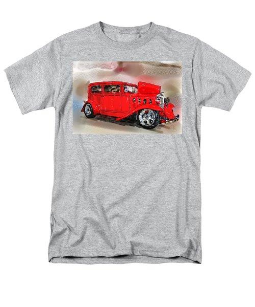 Red Car Men's T-Shirt  (Regular Fit) by Debra Baldwin