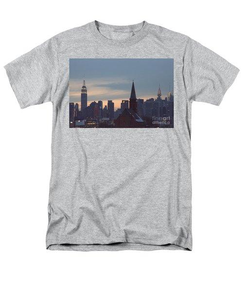 Men's T-Shirt  (Regular Fit) featuring the photograph Red Church by Steven Macanka