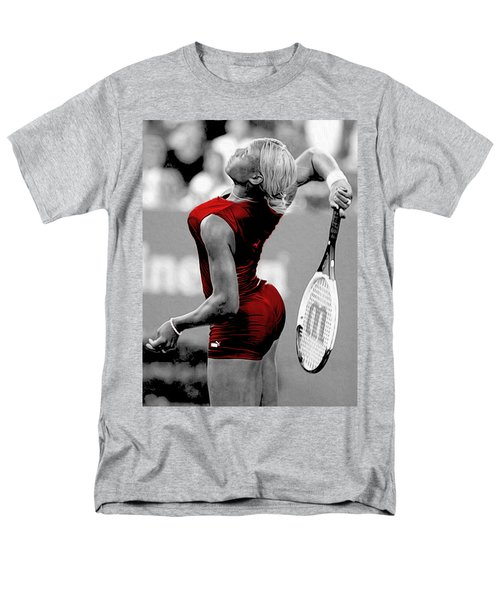 Men's T-Shirt  (Regular Fit) featuring the photograph Red Cat Suit by Brian Reaves