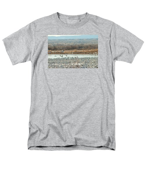 Refuge View 1 Men's T-Shirt  (Regular Fit) by James Gay