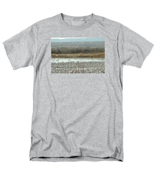 Refuge View  Men's T-Shirt  (Regular Fit) by James Gay