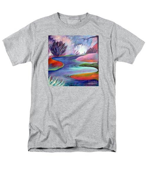 Blue Bayou Men's T-Shirt  (Regular Fit) by Elizabeth Fontaine-Barr