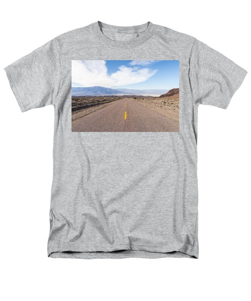 Road To Death Valley Men's T-Shirt  (Regular Fit) by Muhie Kanawati