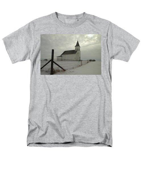 Rock Of Ages In North Dakota Men's T-Shirt  (Regular Fit) by Jeff Swan