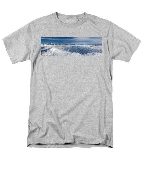 Men's T-Shirt  (Regular Fit) featuring the photograph Rocky Mountain Winter by Aaron Aldrich