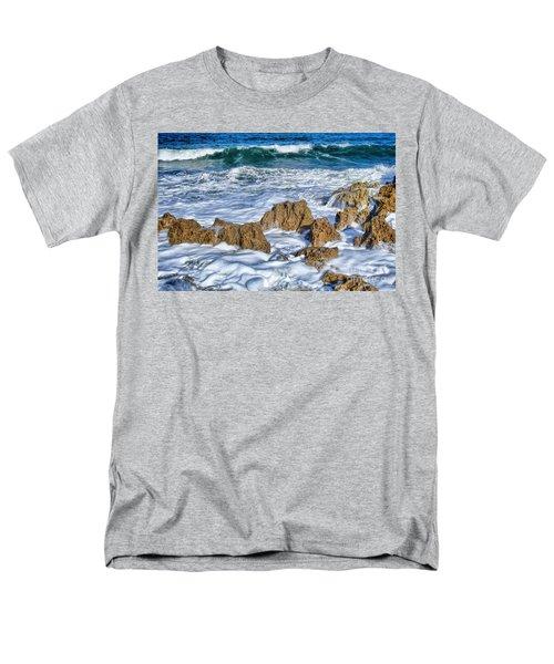 Men's T-Shirt  (Regular Fit) featuring the photograph Ross Witham Beach Stuart Florida by Olga Hamilton