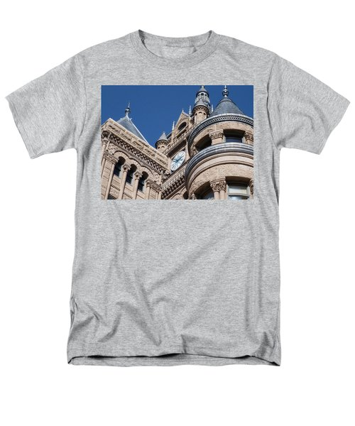 Men's T-Shirt  (Regular Fit) featuring the photograph Salt Lake City - City Hall - 1 by Ely Arsha