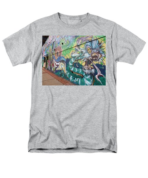 Men's T-Shirt  (Regular Fit) featuring the photograph Salt Lake City - Mural 2 by Ely Arsha