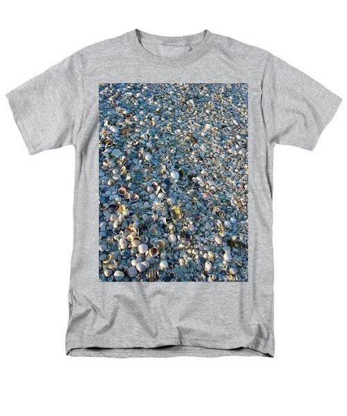 Men's T-Shirt  (Regular Fit) featuring the photograph Sand Key Shells by David Nicholls