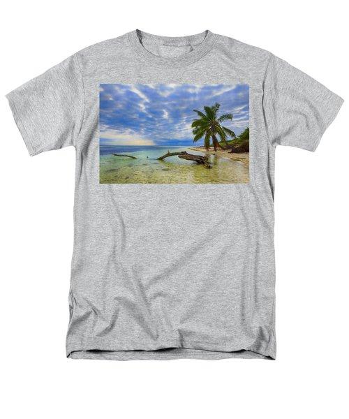 Sandspur Beach Men's T-Shirt  (Regular Fit) by Swank Photography