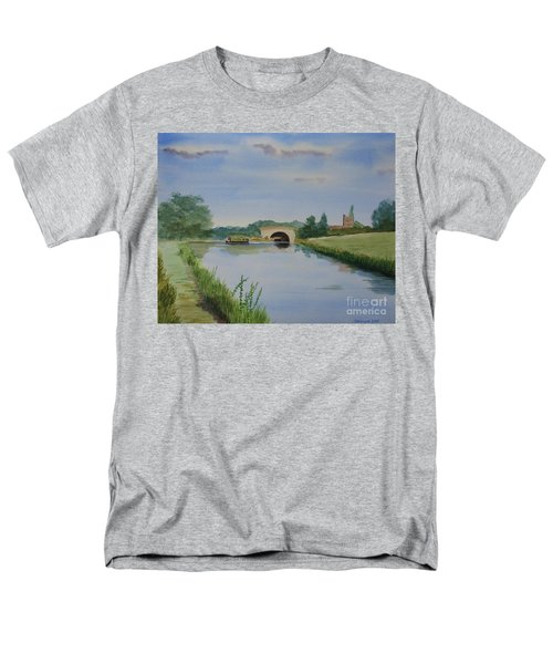 Sandy Bridge Men's T-Shirt  (Regular Fit) by Martin Howard