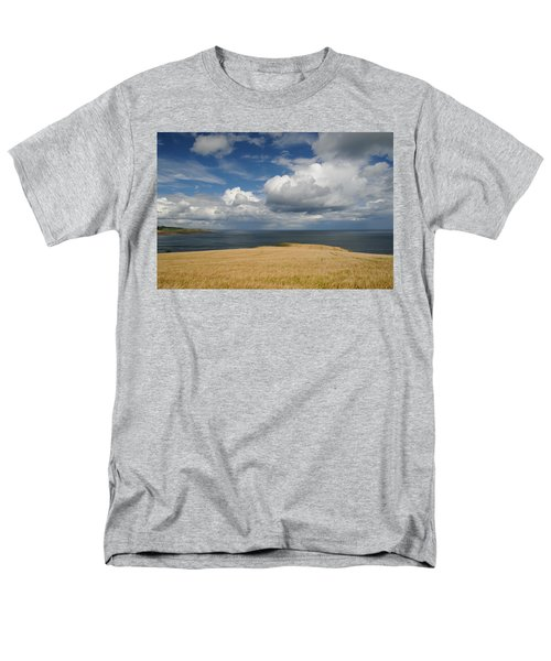 Scottish Coastal Wheatfield Men's T-Shirt  (Regular Fit) by Jeremy Voisey