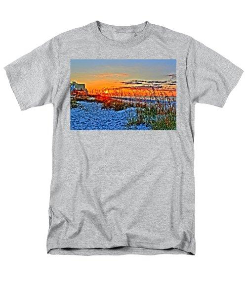 Sea Oats At Sunrise Men's T-Shirt  (Regular Fit)