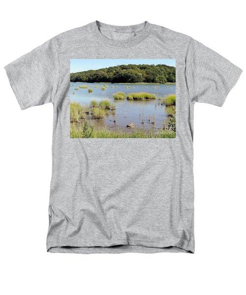 Men's T-Shirt  (Regular Fit) featuring the photograph Seagrass by Ed Weidman