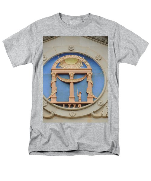 Men's T-Shirt  (Regular Fit) featuring the photograph seal of Georgia by Aaron Martens