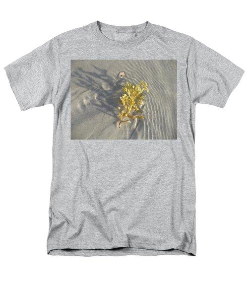 Seaweed Sand Men's T-Shirt  (Regular Fit) by Ellen Meakin