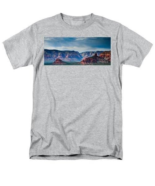 Sedona Arizona Panorama Men's T-Shirt  (Regular Fit)