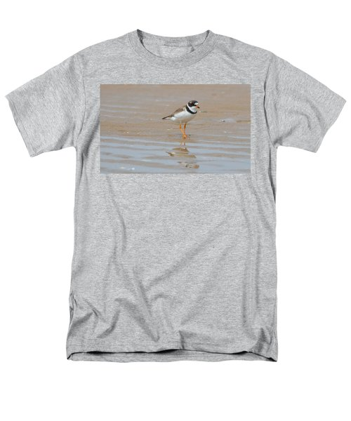 Men's T-Shirt  (Regular Fit) featuring the photograph Semipalmated Plover by James Petersen