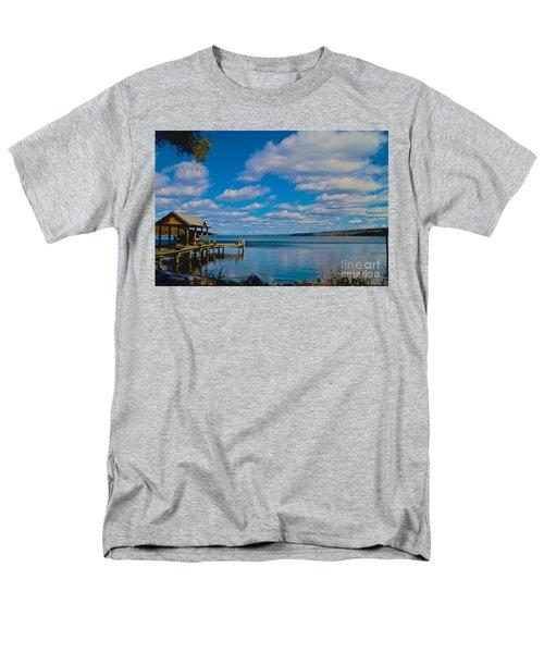 Seneca Lake At Glenora Point Men's T-Shirt  (Regular Fit) by William Norton