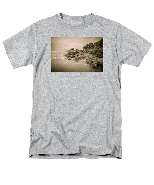 Cox Bay Sepia Men's T-Shirt  (Regular Fit) by Roxy Hurtubise