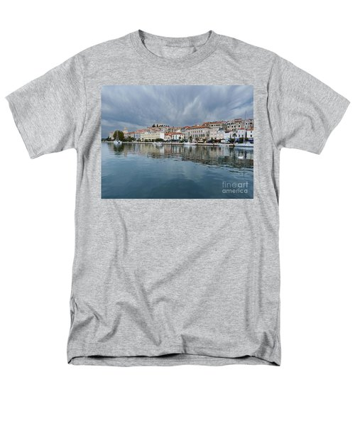 Men's T-Shirt  (Regular Fit) featuring the photograph Sibenik Waterfront - Croatia by Phil Banks
