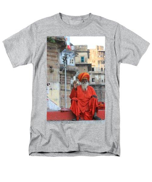 Indian Man Men's T-Shirt  (Regular Fit) by Amanda Stadther