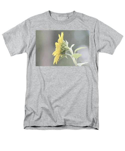 Single Sunflower Men's T-Shirt  (Regular Fit) by Leone Lund