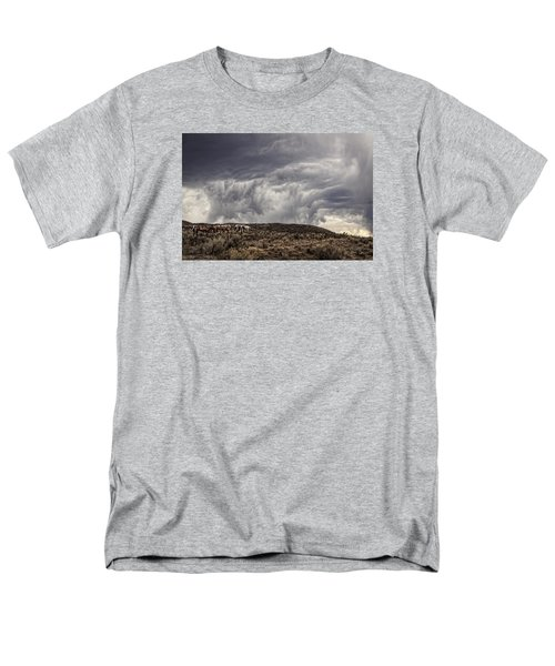 Skirting The Storm Men's T-Shirt  (Regular Fit) by Joan Davis