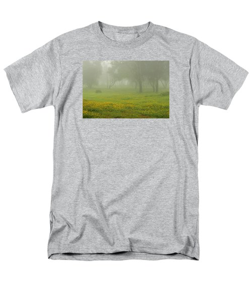 Men's T-Shirt  (Regular Fit) featuring the photograph Skc 0835 Romance In The Meadows by Sunil Kapadia
