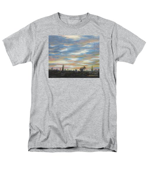 Men's T-Shirt  (Regular Fit) featuring the painting Sky by Vesna Martinjak