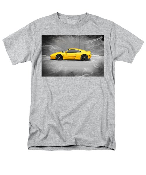 Men's T-Shirt  (Regular Fit) featuring the photograph Smokin' Hot Ferrari by Kathy Churchman