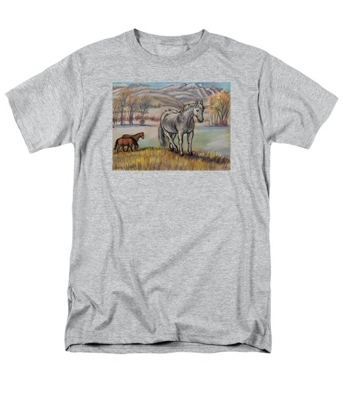 Smoky The Mustang -- In Honor Men's T-Shirt  (Regular Fit) by Dawn Senior-Trask