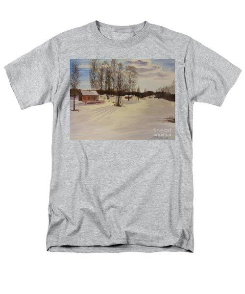 Snow In Solbrinken Men's T-Shirt  (Regular Fit) by Martin Howard