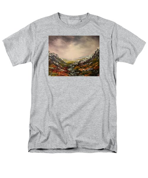 Snow On The Cairngorms Men's T-Shirt  (Regular Fit) by Jean Walker
