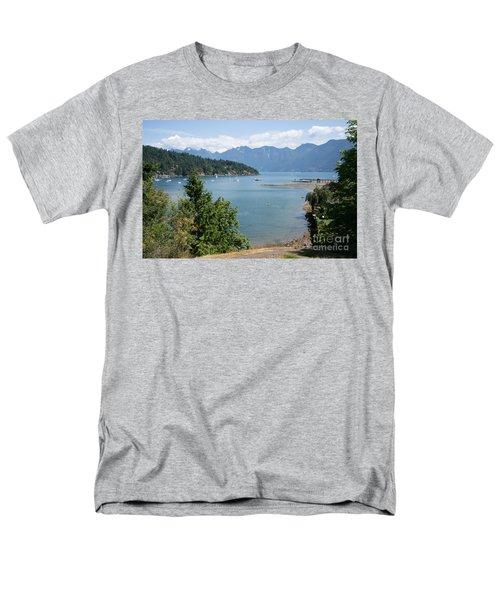 Snug Cove  Men's T-Shirt  (Regular Fit) by Carol Ailles