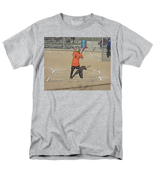 Softball Star Men's T-Shirt  (Regular Fit) by Michael Porchik