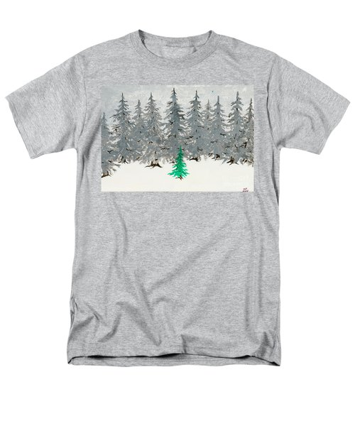 Solitary Men's T-Shirt  (Regular Fit)