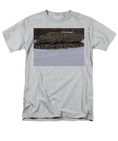 John Hinker's Coal Dock. Men's T-Shirt  (Regular Fit) by Jonathon Hansen