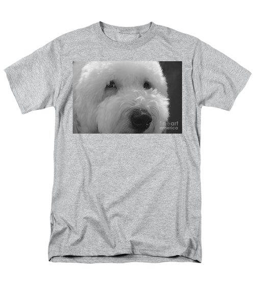 Soulful Eye's Old English Sheep Dog Men's T-Shirt  (Regular Fit) by Peggy Franz
