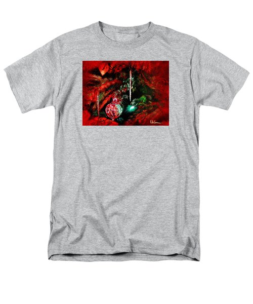 Men's T-Shirt  (Regular Fit) featuring the painting Spirit Of Christmas by LaVonne Hand