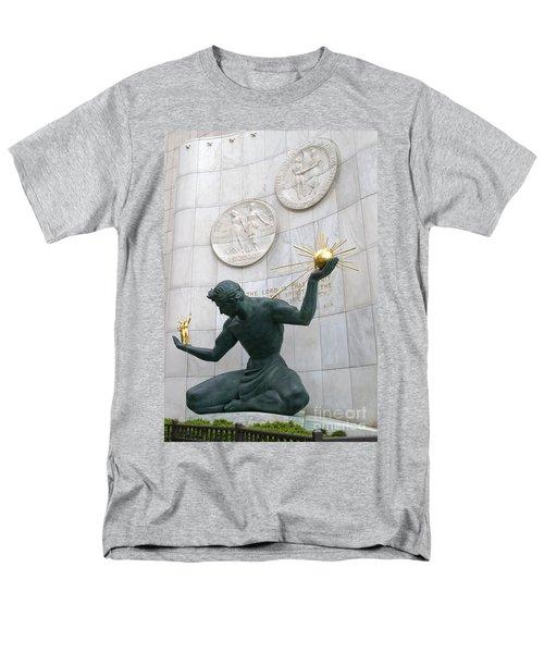 Spirit Of Detroit Monument Men's T-Shirt  (Regular Fit)