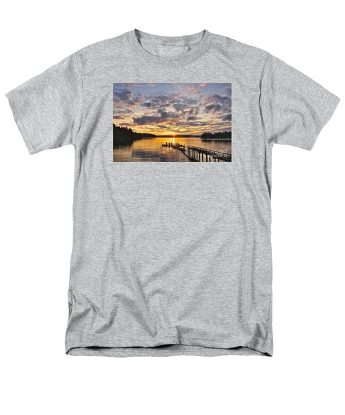 Men's T-Shirt  (Regular Fit) featuring the photograph Spring Sunrise by Sean Griffin