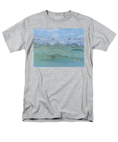 Springtime In The Rockies Men's T-Shirt  (Regular Fit) by Michele Myers