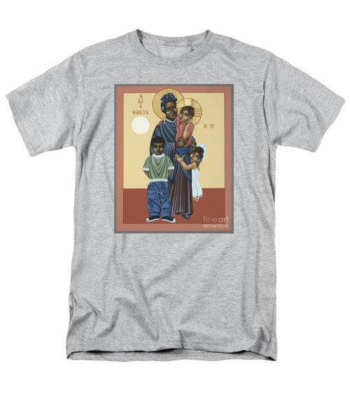 St. Josephine Bakhita Universal Sister 095 Men's T-Shirt  (Regular Fit) by William Hart McNichols
