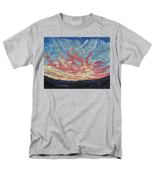 Standing Outside The Fire Men's T-Shirt  (Regular Fit) by Phil Chadwick