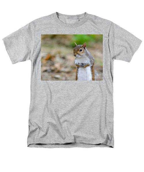Standing Squirrel Men's T-Shirt  (Regular Fit) by Matt Malloy