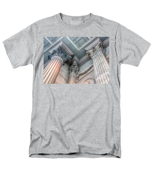 State House Exterior Columns Men's T-Shirt  (Regular Fit) by Rob Sellers