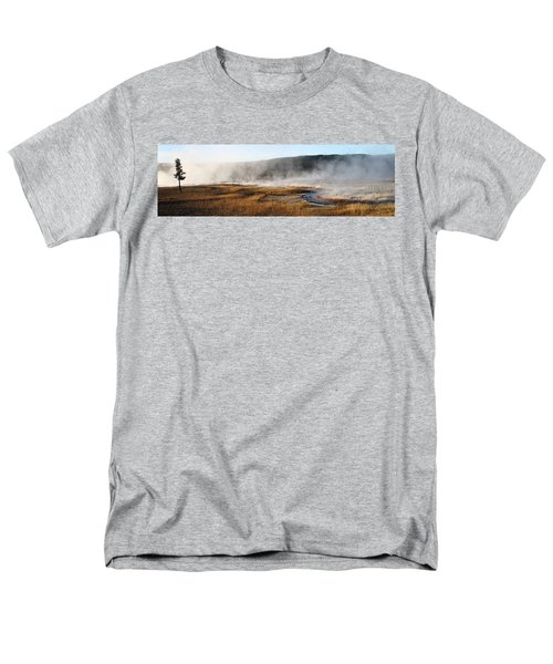 Men's T-Shirt  (Regular Fit) featuring the photograph Steam Creek by David Andersen