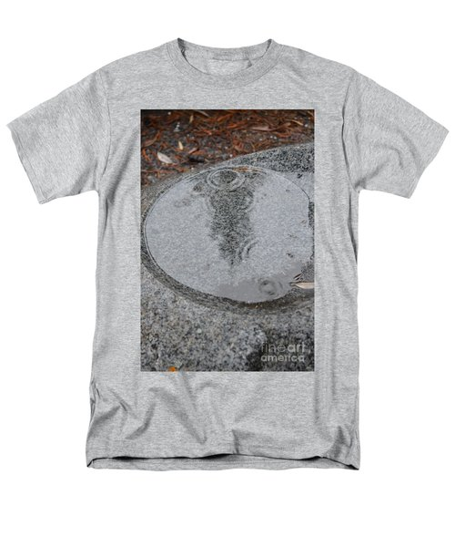 Men's T-Shirt  (Regular Fit) featuring the photograph Stone Pool Angel by Brian Boyle